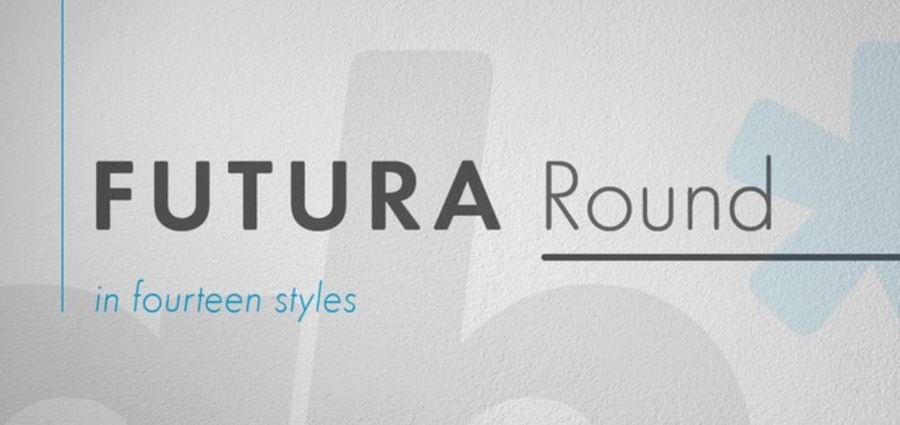 Futura Round Font Family Free Download