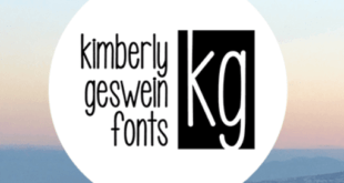 Kimberly Geswein Fonts 310x165 - Kimberly Geswein Font Foundry