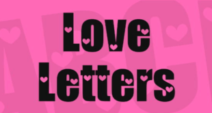 Love Letters Font 310x165 - Love Letters Font Free Download
