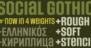 Social Gothic Font 310x165 - Social Gothic Font Free Download