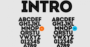 Intro Font 310x165 - Intro Font Family Free Download