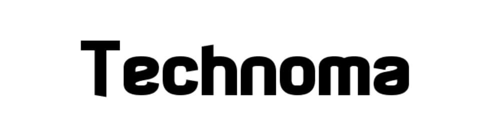Technoma Regular Font