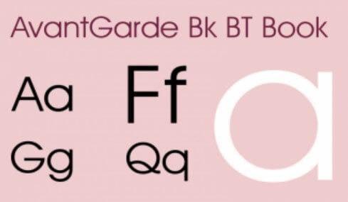 Avantgarde bk bt font download free pc/mac and web font.