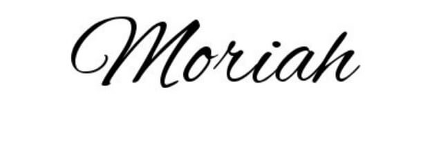 Moriah Script Font Free Download