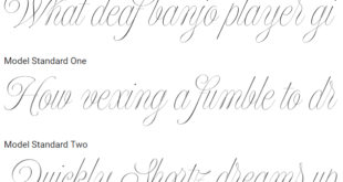 Jaime Blues Font 310x165 - Model Font Family Free Download