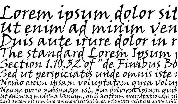 Viner Hand ITC Font Free Download