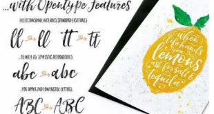 Sunshine Font Duo 310x165 - Hello Bright Sunshine Font Duo Free Download