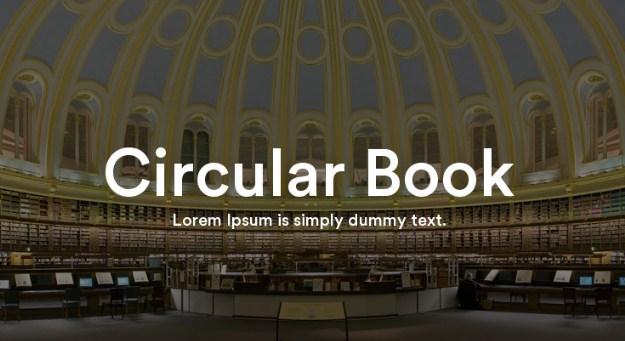 Circular Std Font Free Download