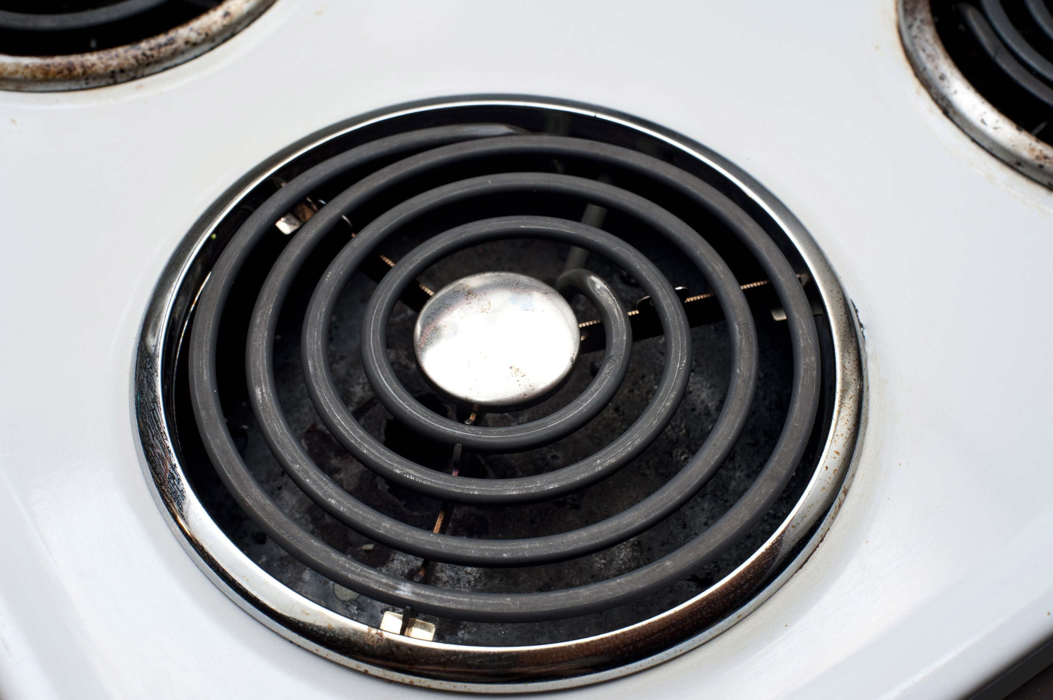Spiral hotplate  Free Stock Image