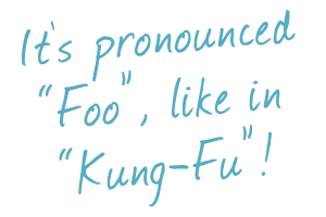 "FU - it's pronounced ""foo""!"