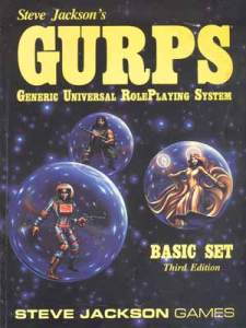 GURPS - Generic universal Role Play System