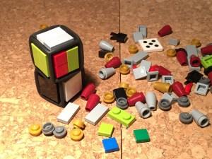 Lego dice turned into custom dice for FU