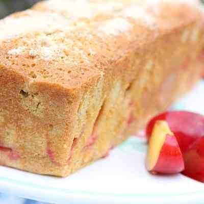 Gluten Free & Dairy Free Plum Cake