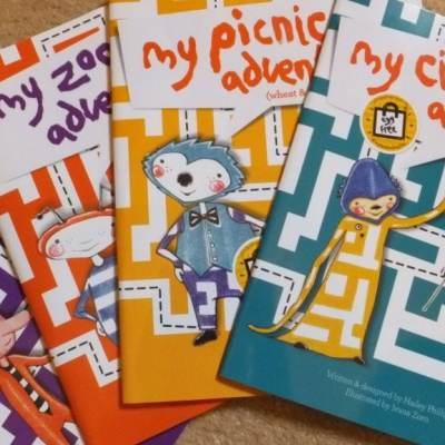 Allergy stories for kids…