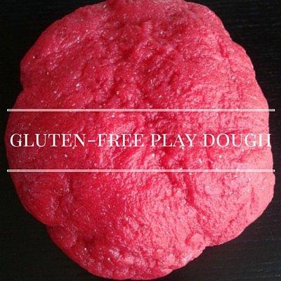 Gluten-free playdough