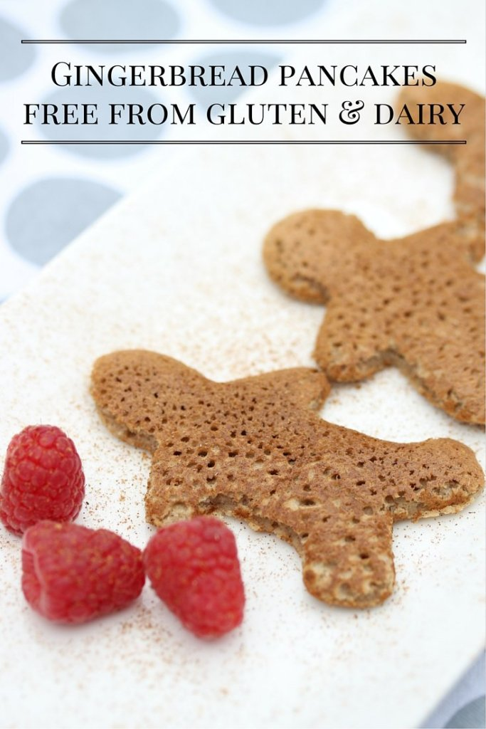 Gingerbread pancakesfree from gluten & dairy
