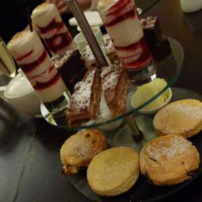 Gluten-free Afternoon Tea at the Bournemouth Highcliff Marriott