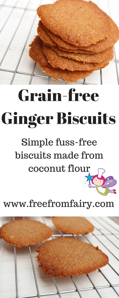 Grain-free Ginger Biscuits
