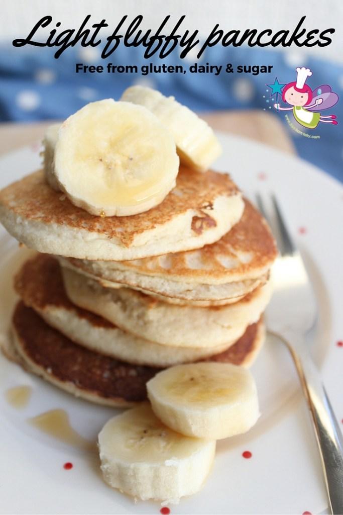 Light fluffy pancakes