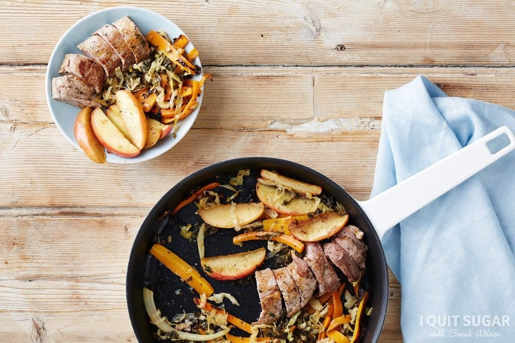 Pork-with-Kimchi-Cabbage-Baked-Apples-Original-1024x683
