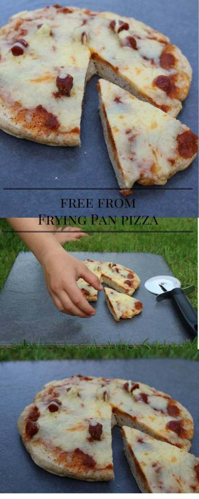 free fromFrying Pan pizza