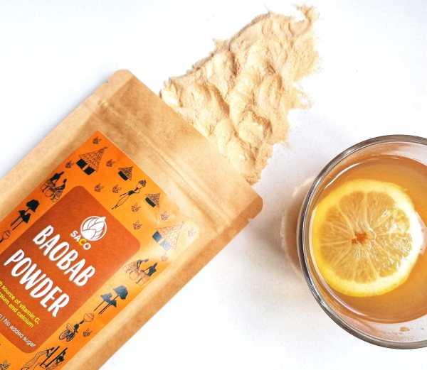 Baobab hot drink
