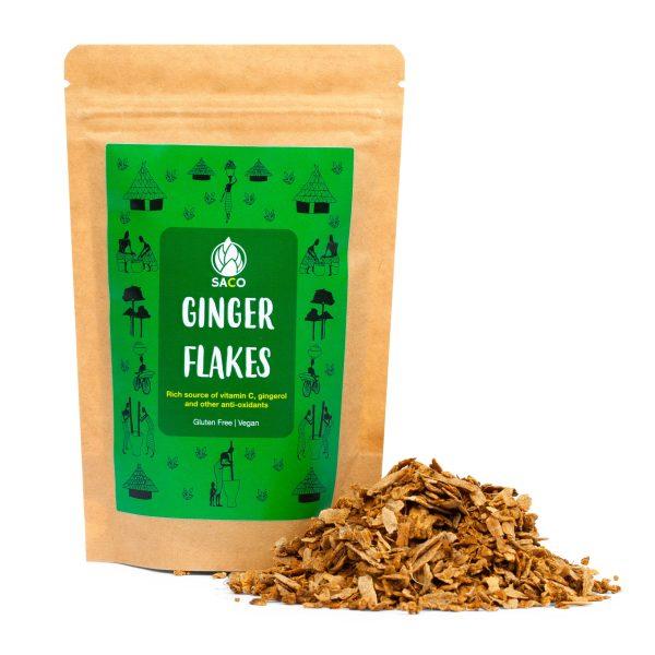 saco ginger flakes