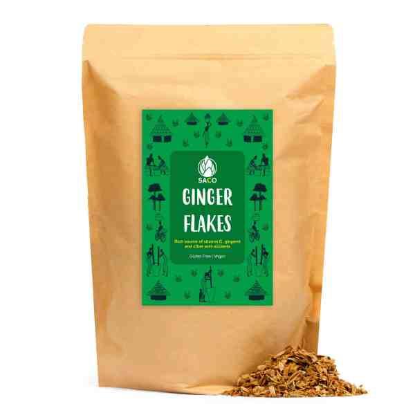 saco ginger flakes big bag