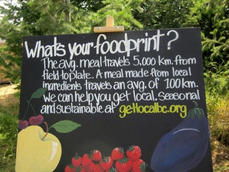 What is your foodprint?