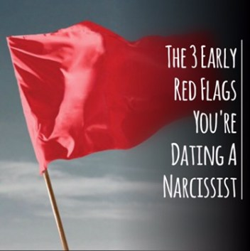early signs of dating a narcissist If you're dating a narcissist, you'll notice they he not only wants to be praised for every little thing he does, but expects as much for example, he picks you up on time for your date even though this act is a basic show of respect and courtesy, he expects you to tell him what a great boyfriend he is merely because he made it to your place on time.