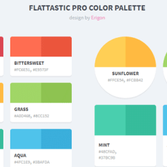 Color Combinations For Diagram Class Visio 2010 20 Css Palettes Demo Image Flattastic Pro Palette