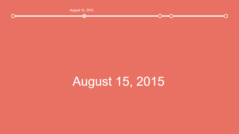 Demo Image: Horizontal Timeline Inspired By Codyhouse