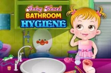 Baby Hazel Bathroom Hygiene