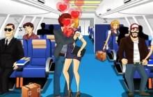 Air Hostess Kissing