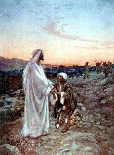 healing the leper