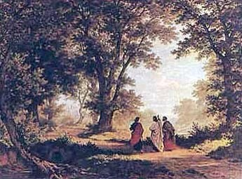 Jesus on the Road to Emmaus : Free Gift From God