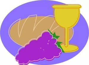 Breaking bread and communion