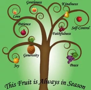 How the Power of the Spirit can help you develop the fruit of the Spirit