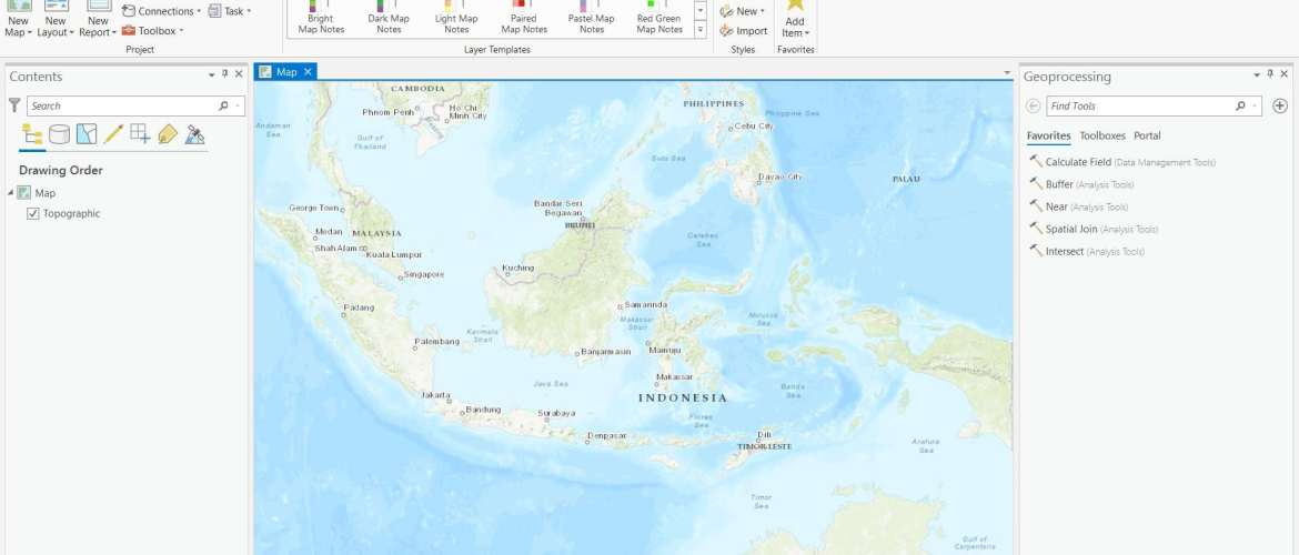 arcgis-pro-new-map