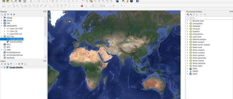 google-satellite-on-qgis3
