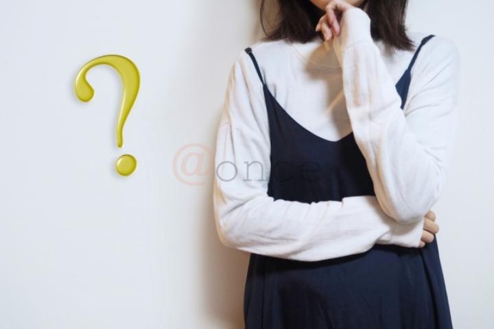 疑問の女性