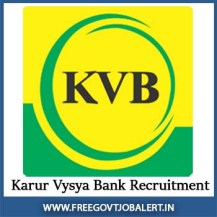 KVB Vacancy