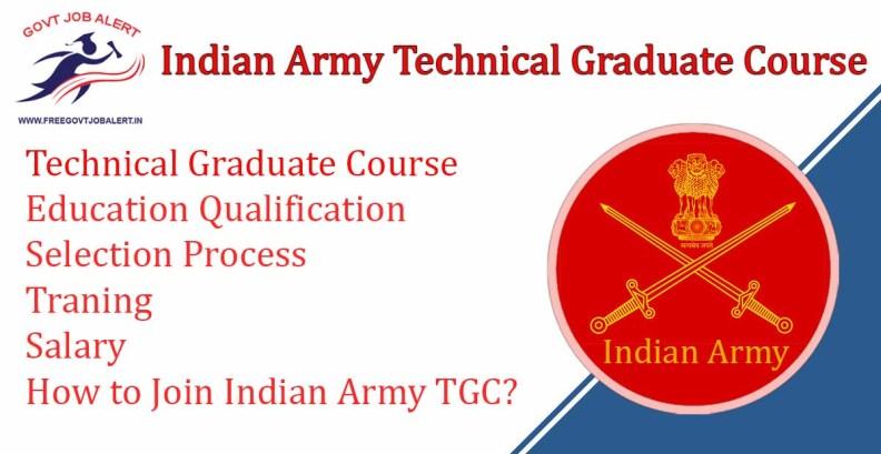 Indian Army Technical Graduate Course TGC