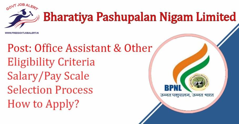 BPNL Vacancy