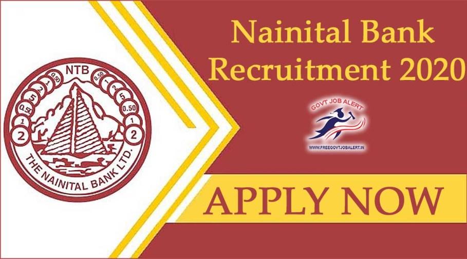 Nainital Bank Recruitment 2020