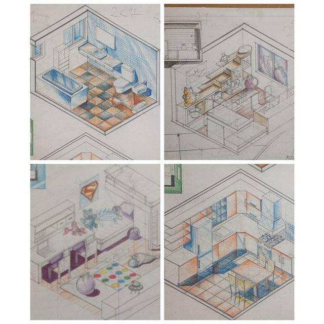 Have A Look At This Free Lesson On Drawing A Living Room From My Course U0027Interior  Design 101u0027 (you Will Absolutely LOVE IT, You Will See!)