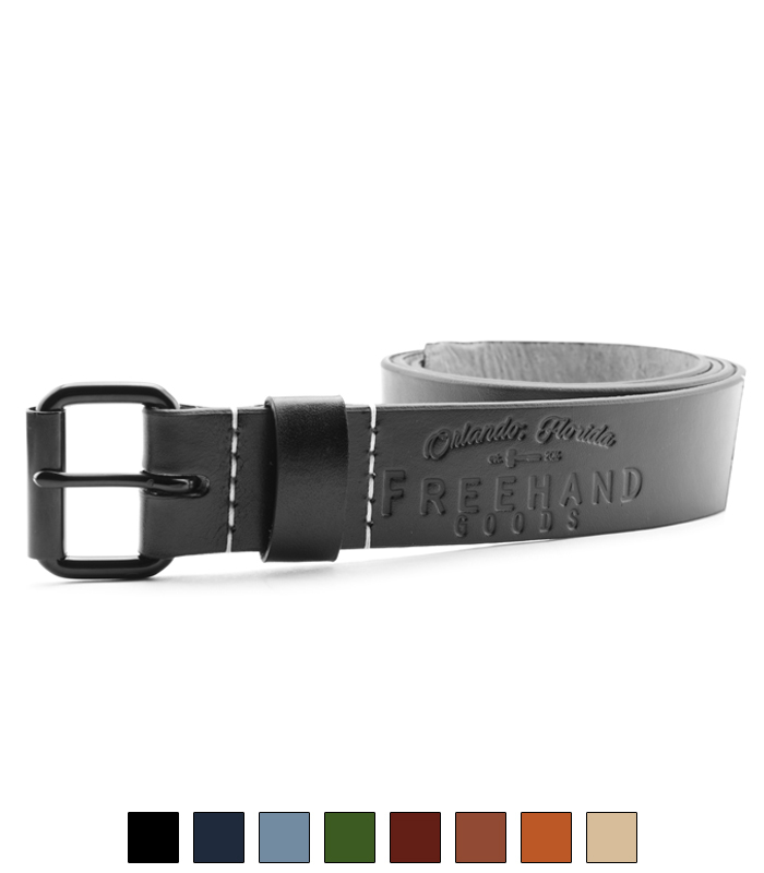 Ivanhoe Leather Belt