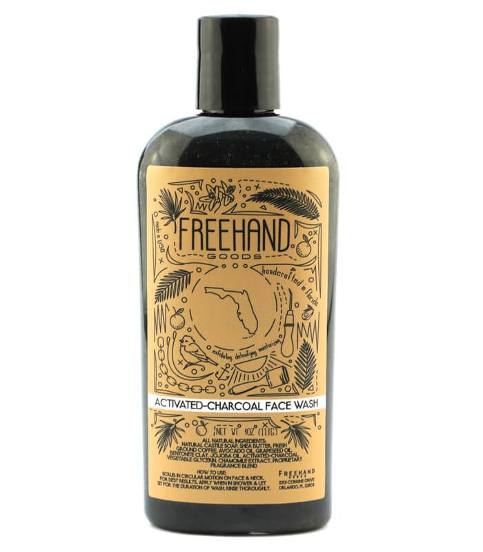 Activated-Charcoal Face Wash