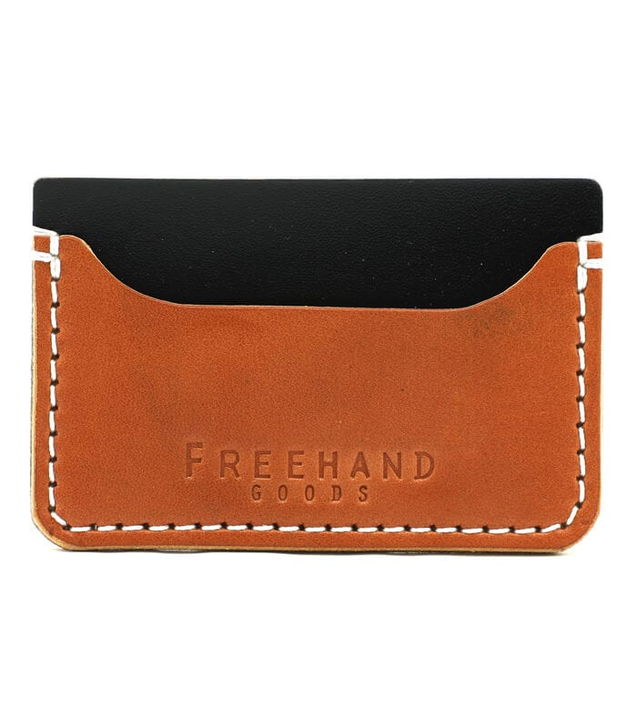Tan Colonial Leather Cardholder