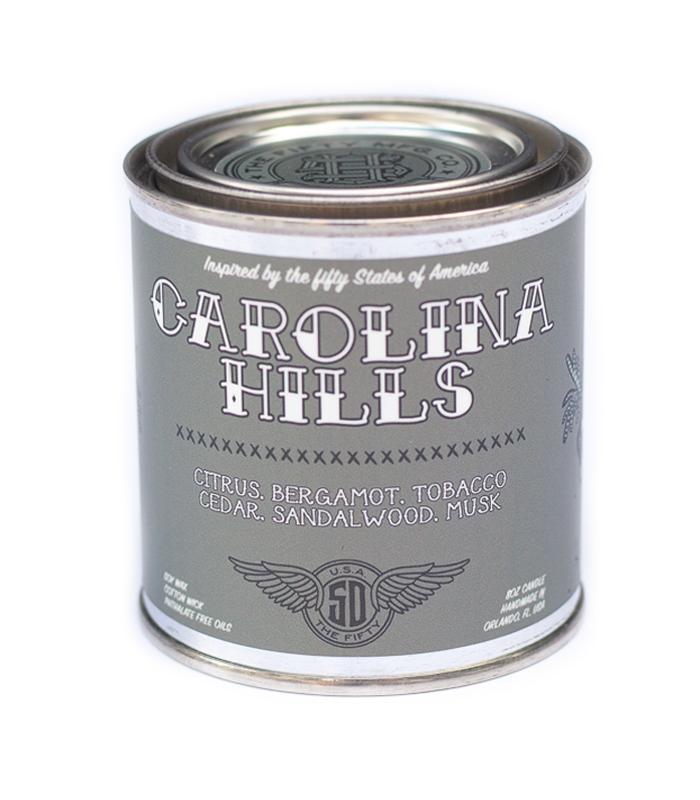 Carolina Hills Soy Candle